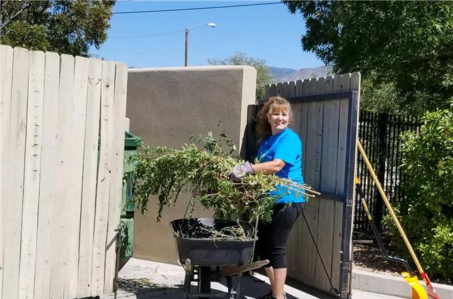 AANM 2018 Volunteer Day - Belen/Los Lunas, NM at Barret House