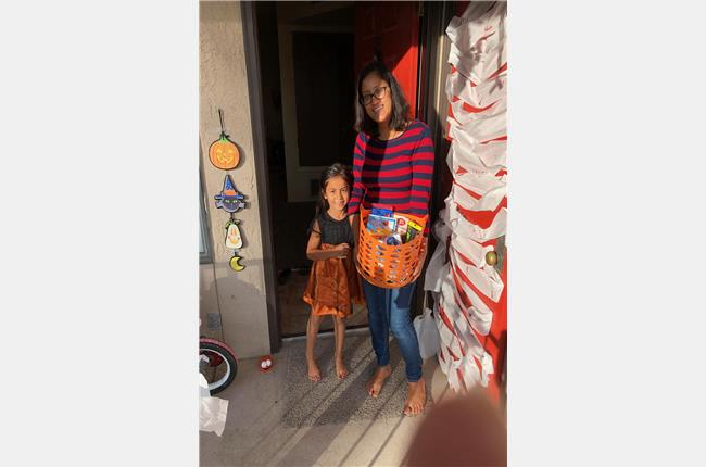 Cibola Apartments 2018 Halloween Door Decorating Contest