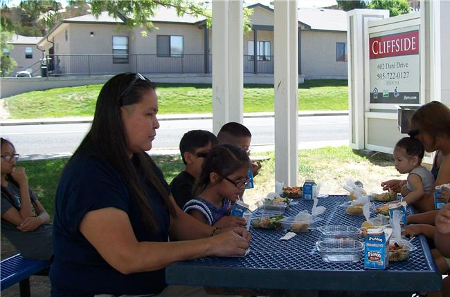 Cliffside Apartments, Gallup, NM - 2018 USDA Summer Lunch Program