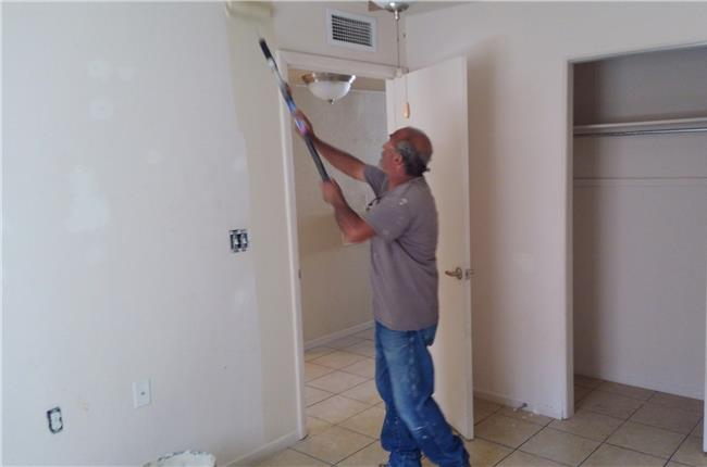 Gerald Chavez Apartments, Los Lunas, NM - Exterior and Interior Painting