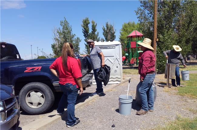 AANM 2018 Volunteer Day - Hatch, NM at Hatch City Park