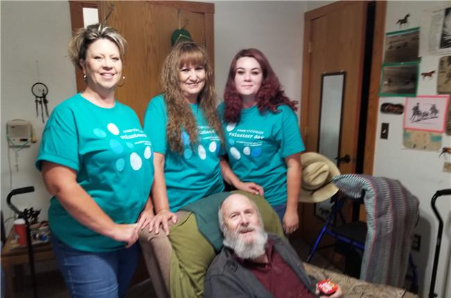 AANM 2019 Volunteer Day – Belen / Los Lunas, NM at Sierra Springs Assisted Living