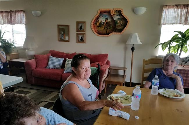 Hillcrest Manor Senior Apartments, Los Lunas, NM - End of Summer Potluck