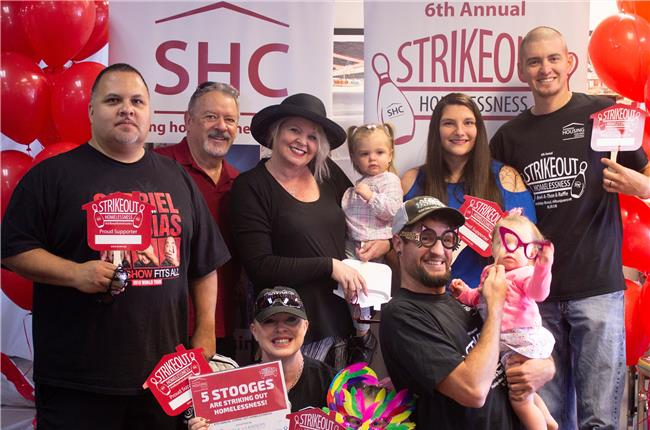 JL Gray Participates in The 6th Annual Strikeout Homelessness Bowl-A-Thon