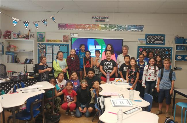AANM 2018 Volunteer Day - Carlsbad/Loving, NM at Joe Stanley Smith Elementary School