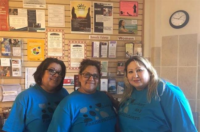 AANM 2018 Volunteer Day - Clovis/Portales, NM at Matt 25 Hope Center and Light House Mission