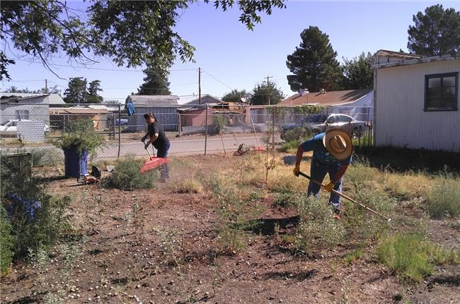 AANM 2019 Volunteer Day – Hatch, NM at Elderly Home