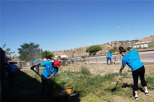 AANM 2018 Volunteer Day - Gallup, NM at Community Pantry