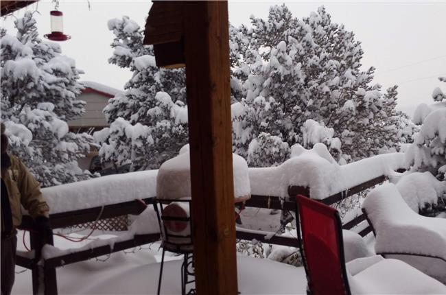 JL Gray Properties Receive Heavy Snow in Las Vegas, New Mexico