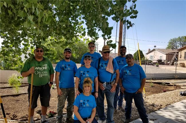 AANM 2018 Volunteer Day - Albuquerque/Bernalillo, NM at New Life Homes 4