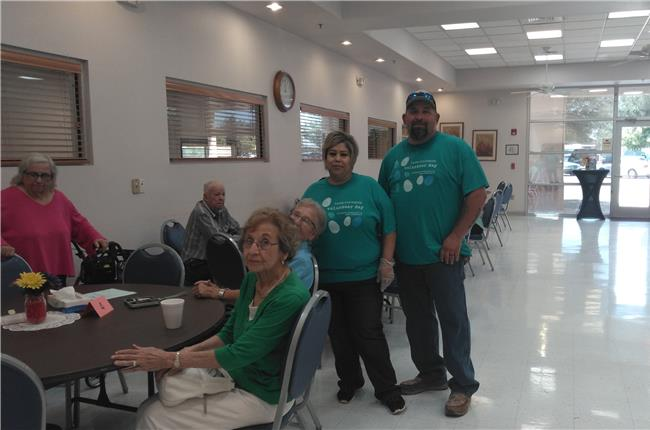 AANM 2019 Volunteer Day – Carlsbad, NM at Artesia Sr. Center