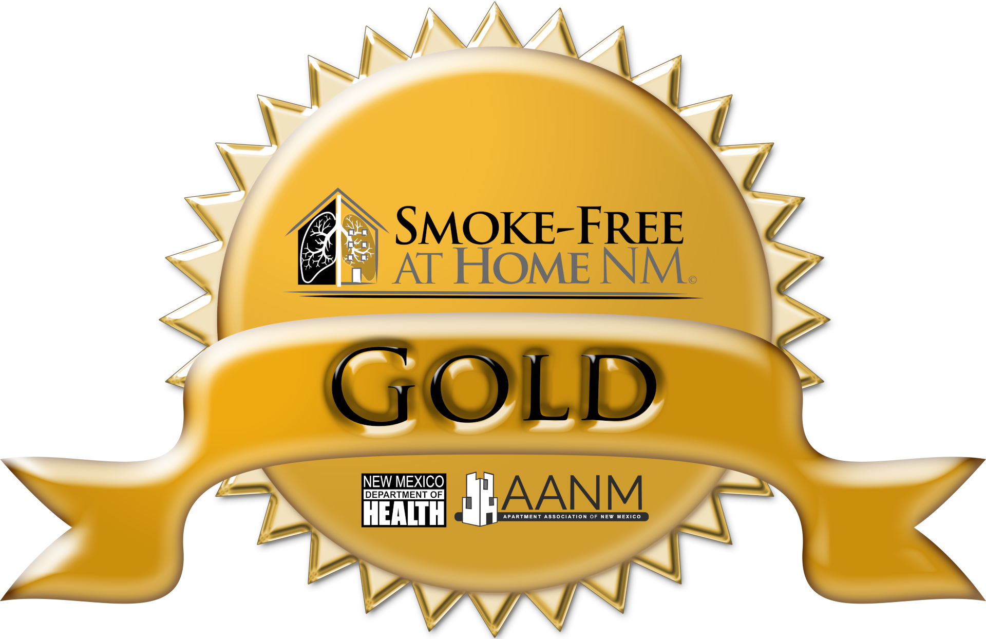 Gold: An Existing Property that does not allow any smoking, including electronic cigarettes, on any part of the property at any time.